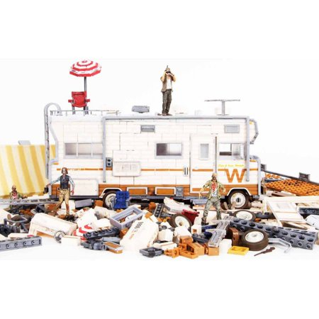 Mcfarlane Toys The Walking Dead Dales Rv Construction Set