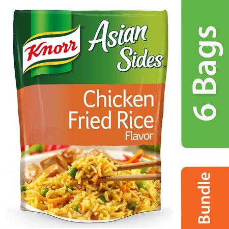 (6 Pack) Knorr Chicken Fried Rice Asian Side Dish, 5.7 (Best Side Dish For Fried Rice)
