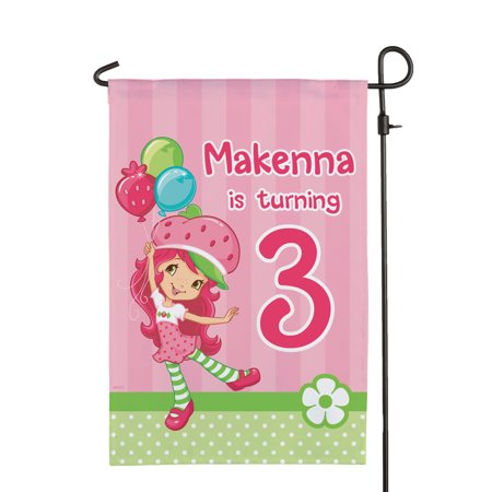 Personalized Strawberry Shortcake Birthday Balloons (Strawberry Shortcake Bedding Set)