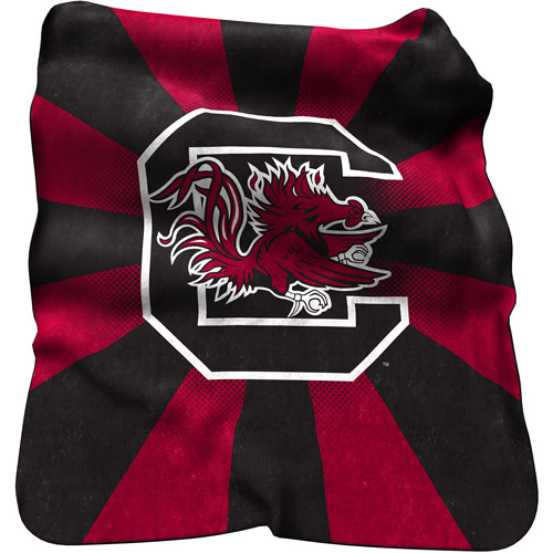 Logo Chair NCAA South Carolina Raschel Throw