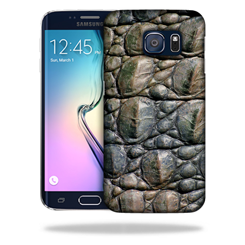 MightySkins Snap-On Protective Hard Case Cover for Samsung Galaxy S6 Edge Gator Skin