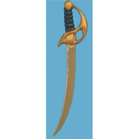 Plastic Pirate Toy Sword Halloween Accessory - Fake Swords