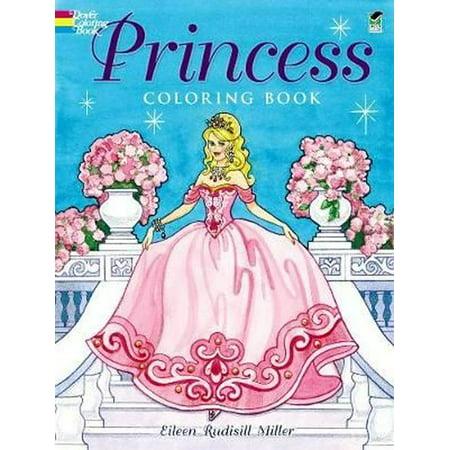 Princess Coloring Book](Princess Halloween Printable Coloring Pages)