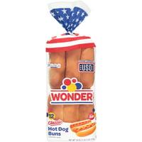 Wonder Classic Hot Dog Buns 12 ct Bag