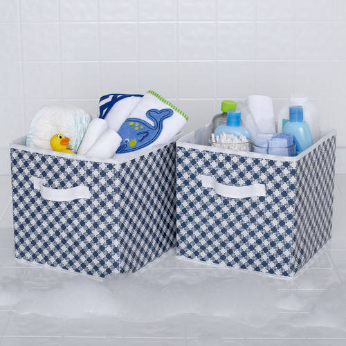 Delta Children 2 Deluxe Water-Resistant Storage Cubes