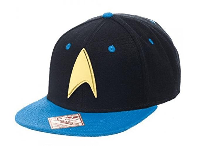 Officially Licensed Star Trek Logo Adjustable Size Snapback Cap