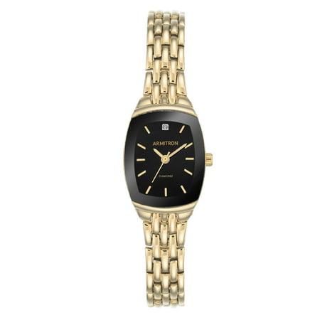 New Womens Dress Watch - Women's Dress Black Cushion Watch