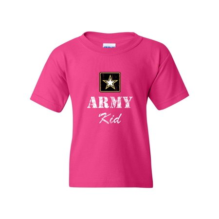 33d2ce23 Artix Army Kid w Star Army Strong Matching Couples w Mom Dad Military  Troops Gift 4 Homecoming Party Mother`s Day Xmas Unisex Youth Kids T-Shirt  Tee ...