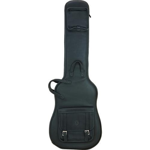 Levy's Italian Leather Bass Guitar Gig Bag Black