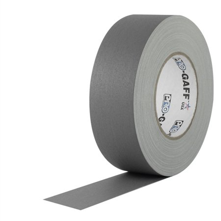 Pro Gaff Gaffers Tape 1 and 2 inch widths, 17 colors available, 2 inch,