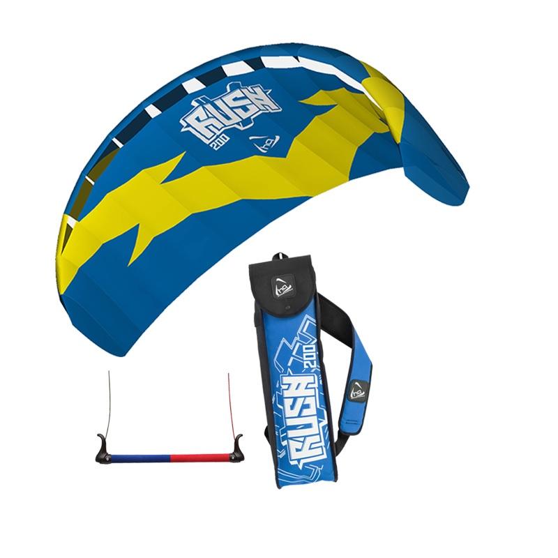 HQ Rush V 200 Trainer Power Kite Foil kitesurfing boarding Kite Bar Water Sports by HQ KITES