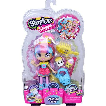 Shopkins Shoppies Rainbow Kate Doll Figure