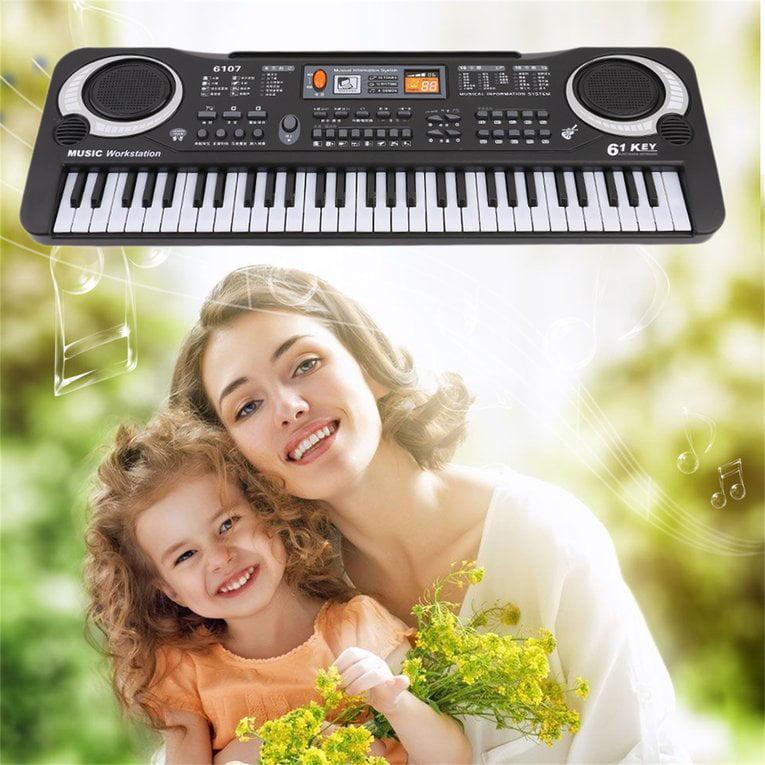 61 Keys Digital Music Electronic Keyboard Board Toy Gift Electric Piano