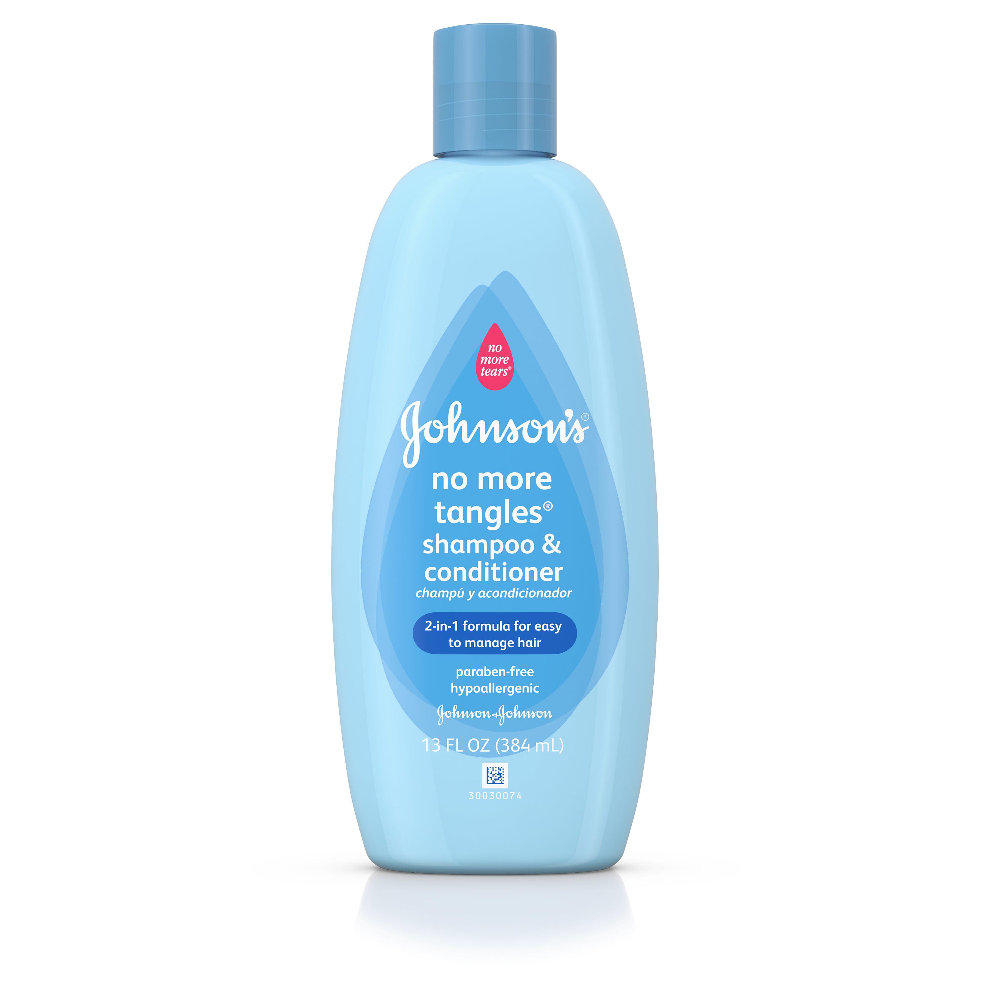 Johnson's No More Tangles Extra Conditioning Toddler Shampoo, 13 Fl. Oz.