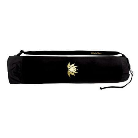 Wai Lana Yoga and Pilates Lotus Tote, Black/Gold