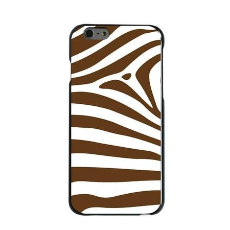 CUSTOM Black Hard Plastic Snap-On Case for Apple iPhone 6 / 6S (4.7