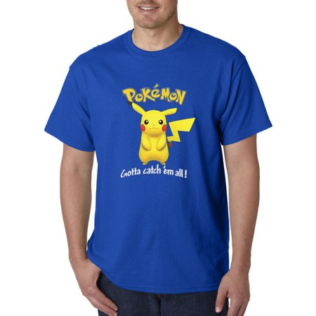 562 - Unisex T-Shirt Pokemon Go Gotta Catch 'Em All Pikachu