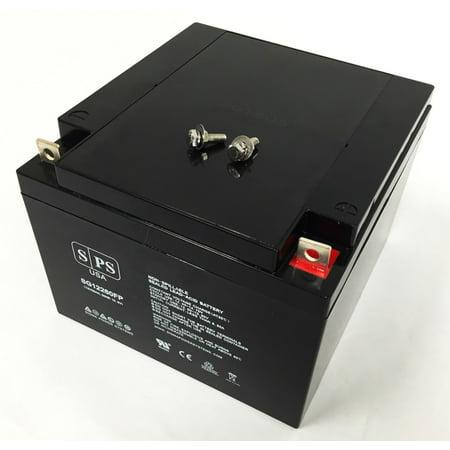 SPS Brand 12V 26AH Replacement battery for Lawn Mower Black & Decker CMM750 TYPE2