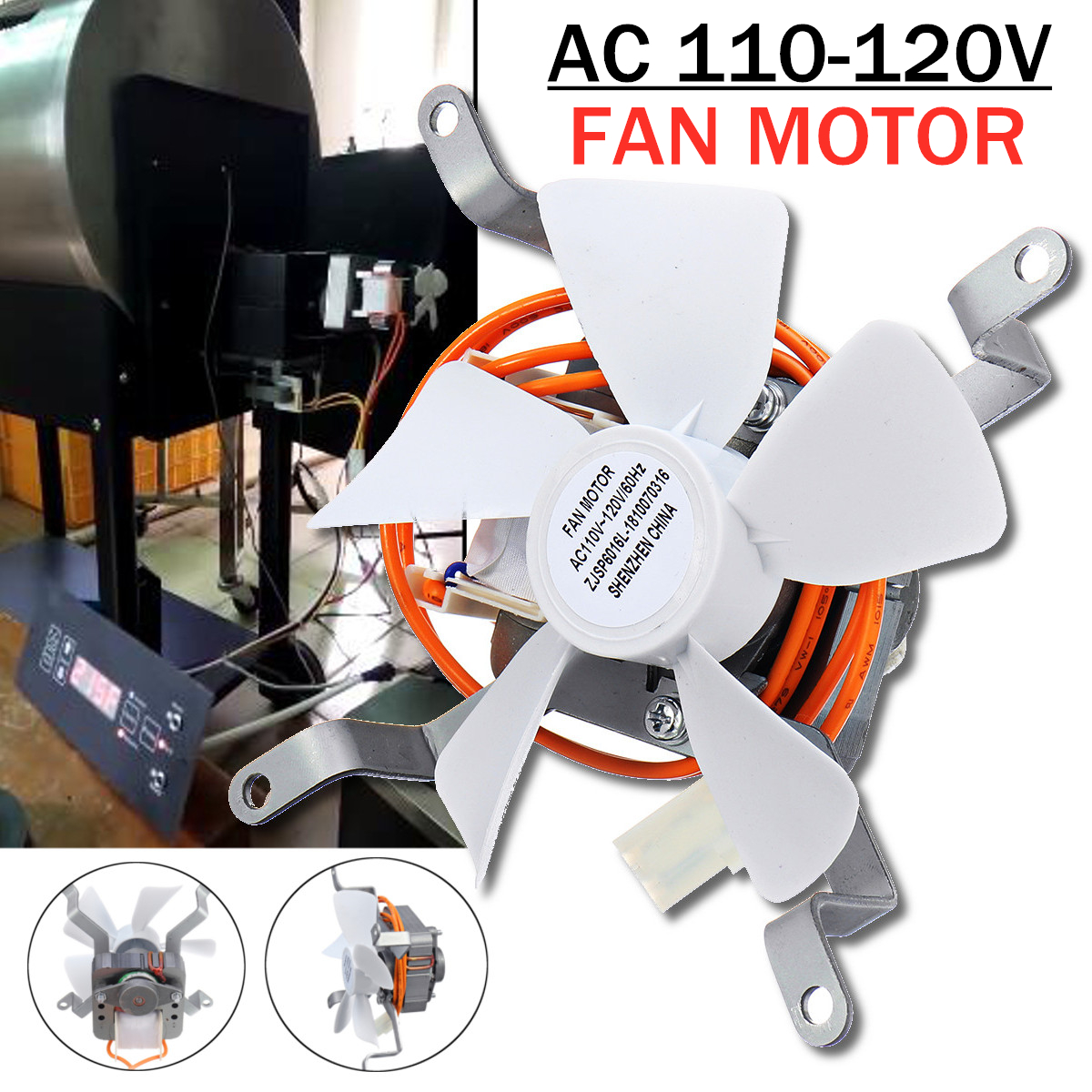 Replacement Induction Fan Part For Traeger Electric Wood ...