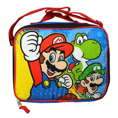 Details about  /Mario Insulated Lunch Bag Adults Portable Lunchbox Kids School Food Storage Bag