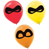 Incredibles Party Supplies 24 Latex Balloons