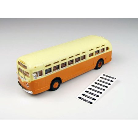 Classic Metal Works 32308 Ho Mini Metals Gmc Td 3610 Transit Bus   Orange With C