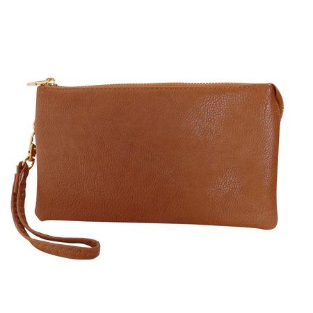 e23dbc5419eb Humble Chic NY - Vegan Leather Small Crossbody Bag or Wristlet ...