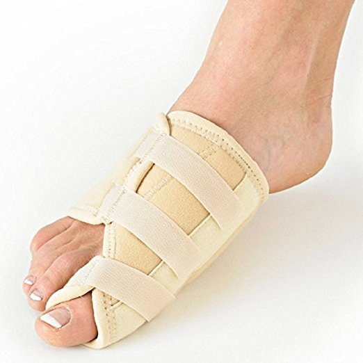 Dr. Wilson Bunion Splint, Bunion Corrector for Crooked Toes Alignment & Big Toe Joint Pain Relief (Tan)