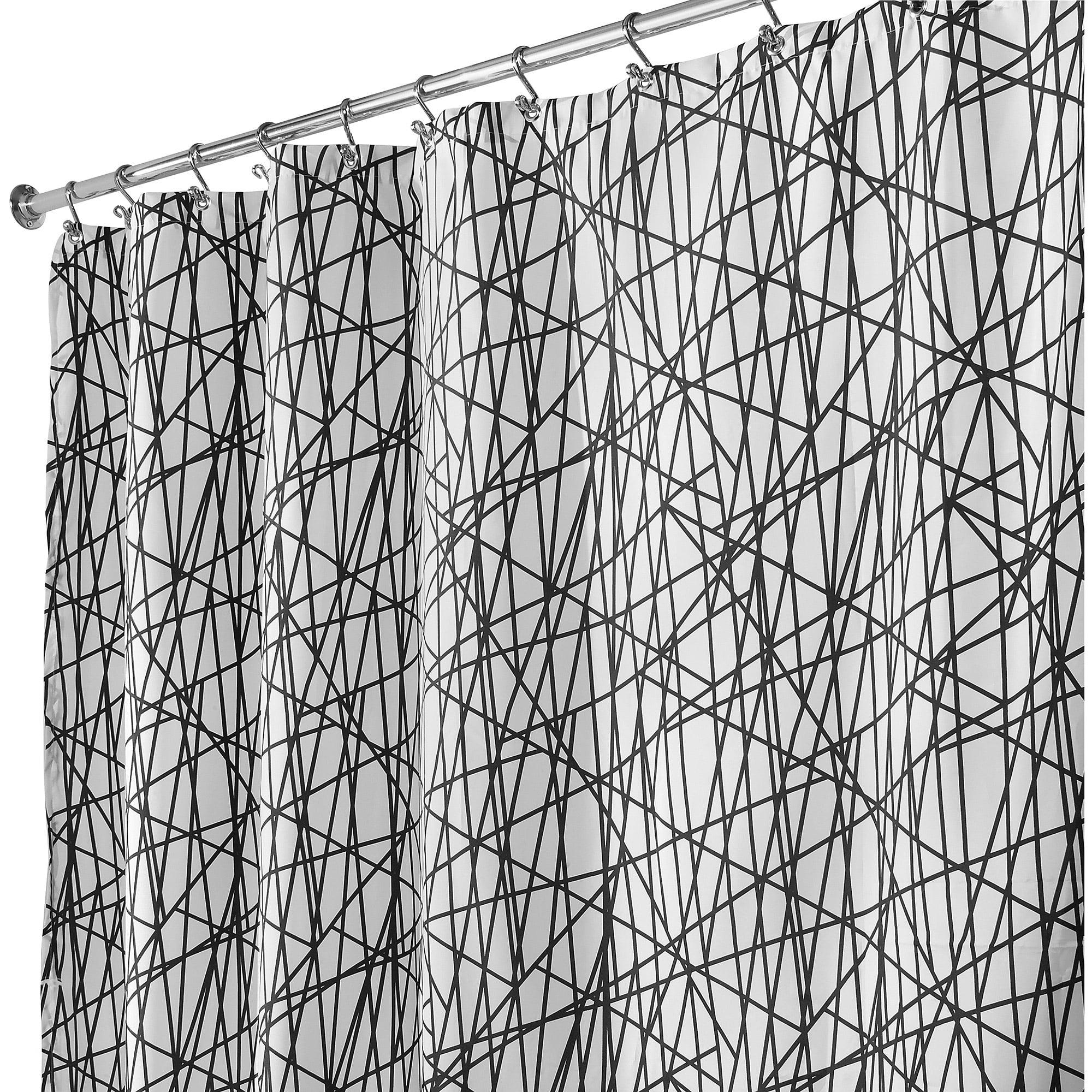 InterDesign Abstract Shower Curtain
