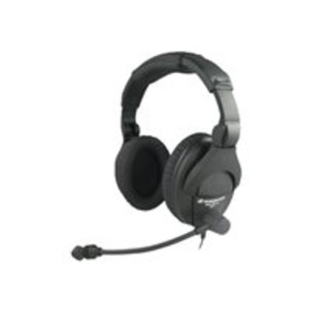 - Sennheiser HME 280 Full-Sized Over-the-Ear Headset with Microphone