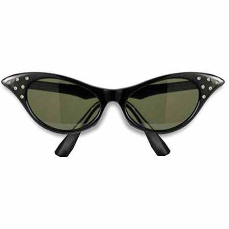 1950s Sunglasses Adult Halloween Costume Accessory (Buy Costumes Online Uk)
