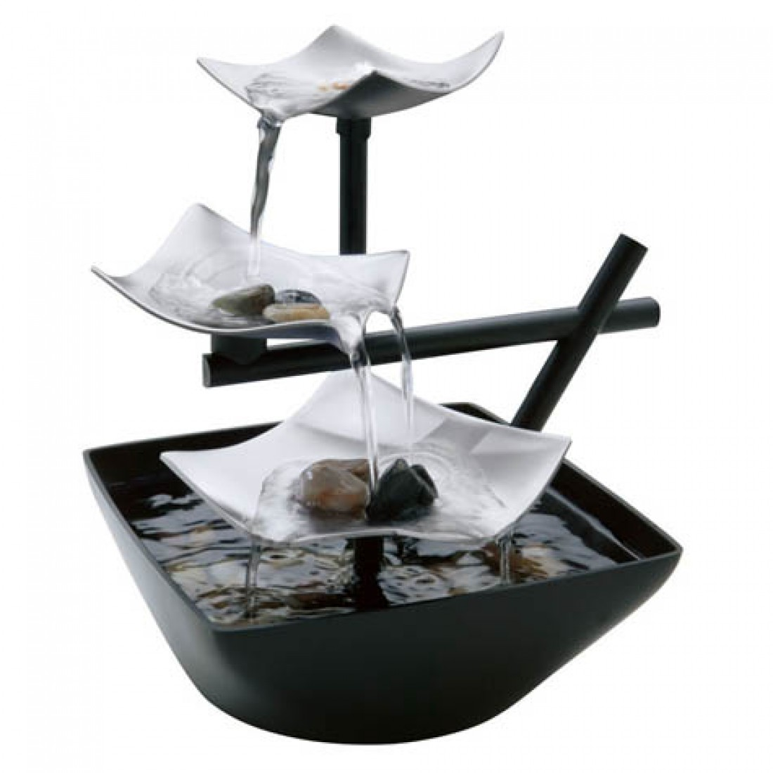 HoMedics EnviraScape Silver Springs Relaxation Fountain by HoMedics, LLC.