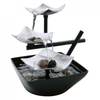 HoMedics EnviraScape Silver Springs Relaxation Fountain, WFL-SLVS