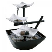 Tabletop Indoor Fountains Tabletop water fountains homedics envirascape silver springs relaxation fountain workwithnaturefo
