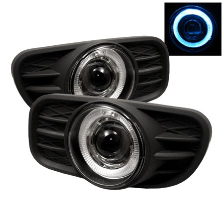 Spyder Jeep Grand Cherokee 99-04 (Does not fit Overland) Halo Projector Fog Lights w/Switch - Clear