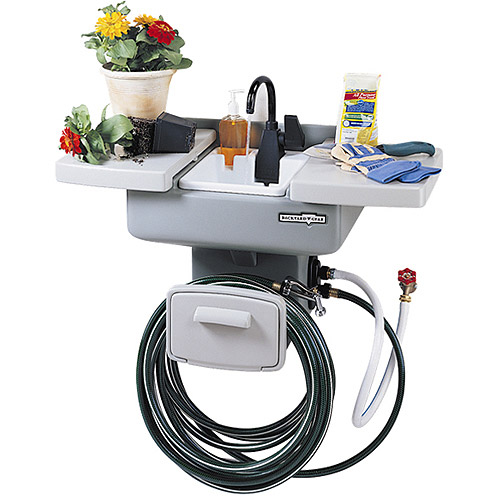 Backyard Gear Water Station Plus Outdoor Sink Walmartcom