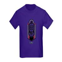 CafePress - Captain Marvel Logo Kids Dark T Shirt - Kids Dark T-Shirt