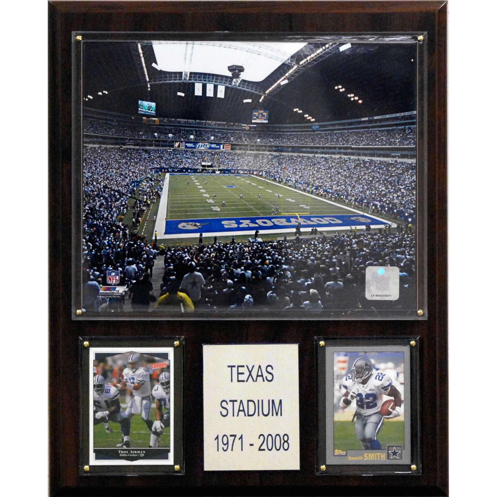 C&I Collectables NFL 12x15 Texas Stadium Stadium Plaque