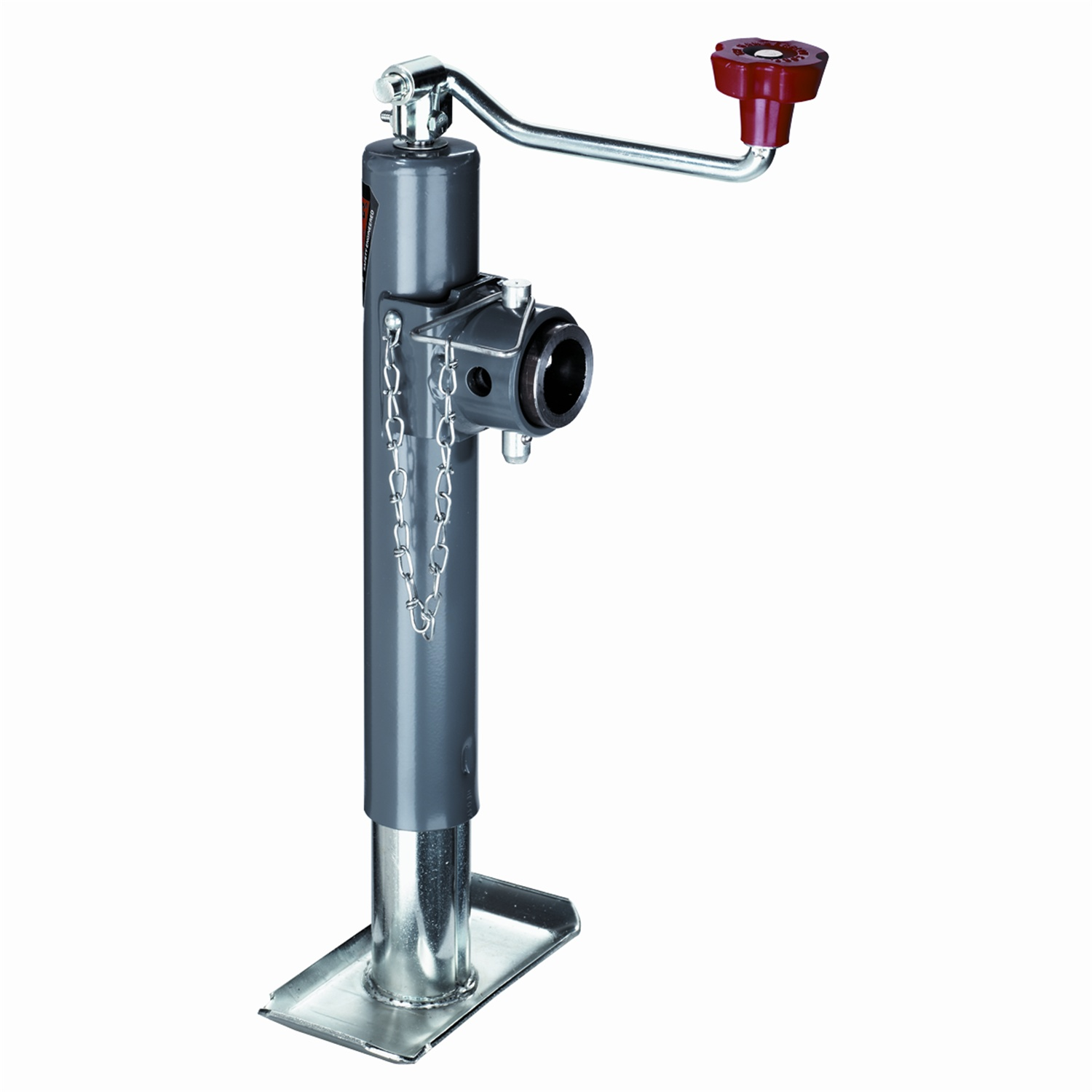 "Bulldog 1584510117 Swivel Trailer Jack Topwind Weld-On Tubular Mount 10"" Travel by Reese"