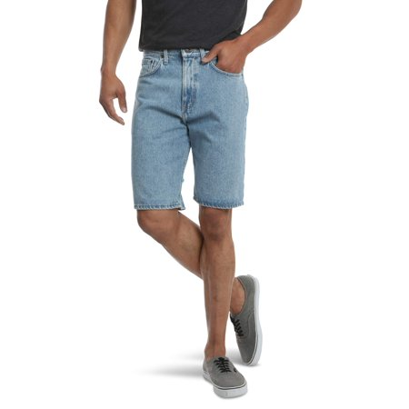 Wrangler Big Men's 5 Pocket Denim - Wrangler Indigo Shorts