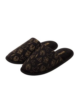 2df425302 Product Image Adult Harry Potter All-Over Print Scuff Slippers. Bioworld  Merchandising   Independent Sales