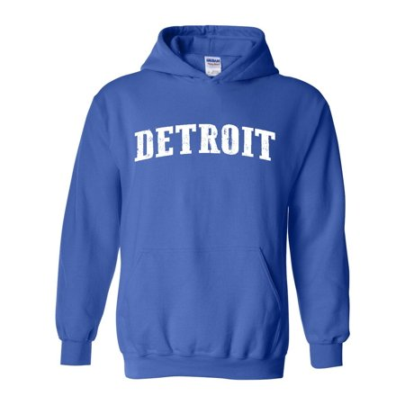 Michigan Detroit Unisex Hoodie Sweatshirt
