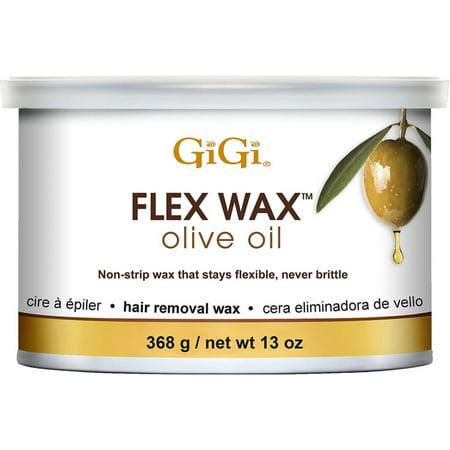 GiGi Olive Oil Flex Wax Hair Removal Wax 13 oz