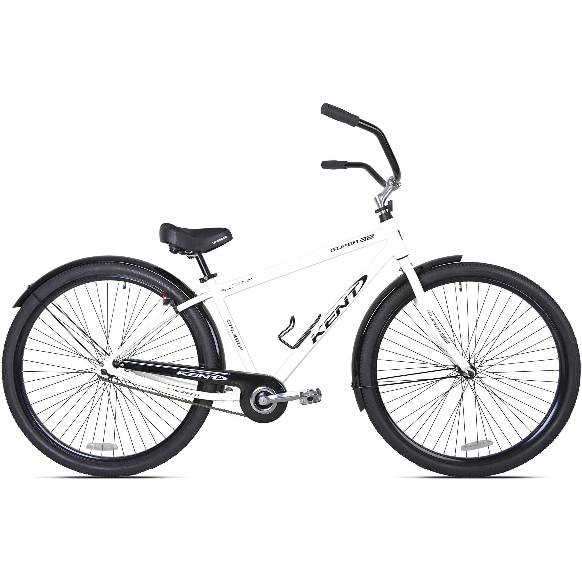 "32"" Kent Super 32 Unisex Beach Cruiser Bike, White"