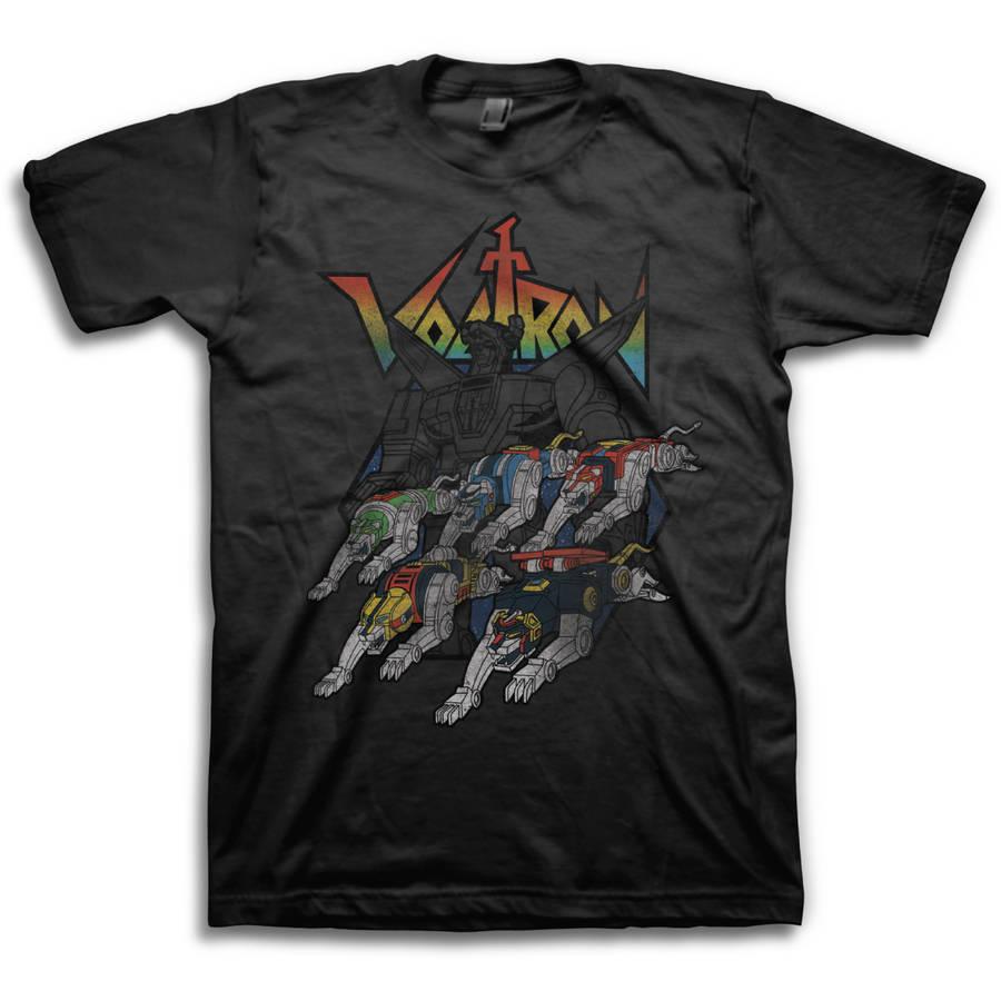 Voltron Big Men's Short Sleeve T-shirt