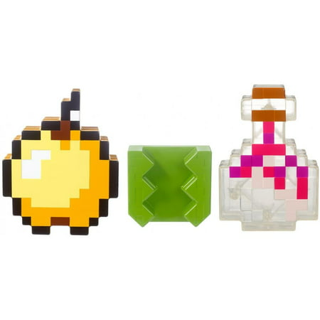 Minecraft Inventory Clip with Potion and Apple Accessories