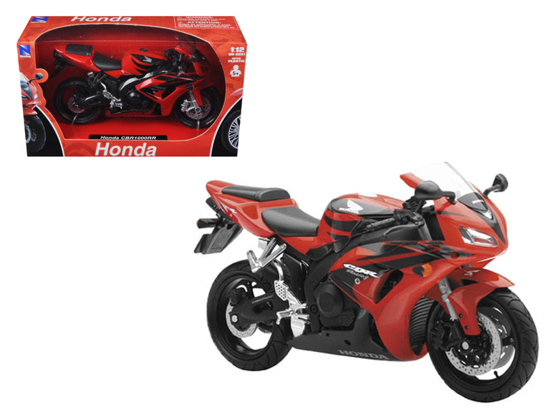 2007 Honda CBR 1000RR Red Bike Motorcycle 1 12 by New Ray by New Ray Toys