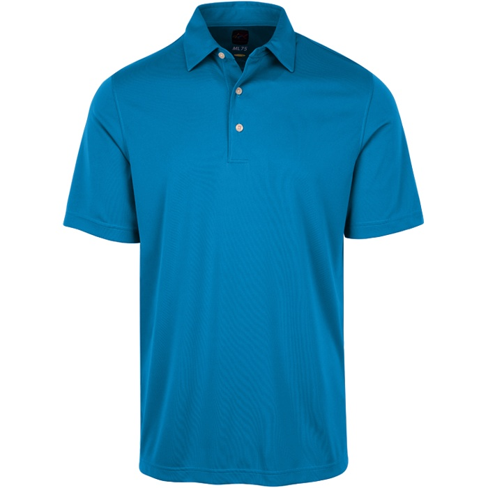 GREG NORMAN PROTEK ML75 MICROLUX SOLID POLO MENS GOLF - NEW