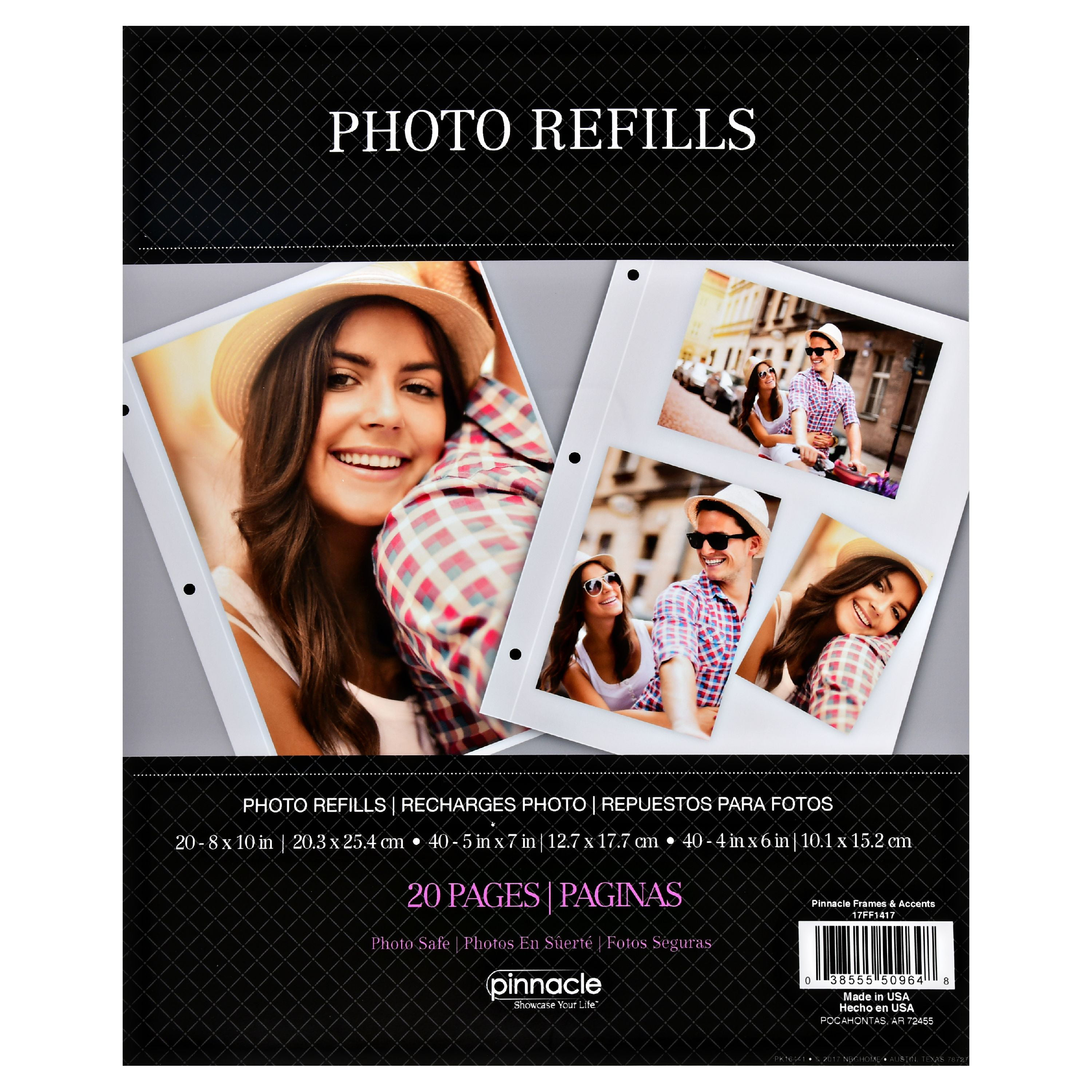 Pinnacle Magnetic Photo Album Page Refills Walmartcom
