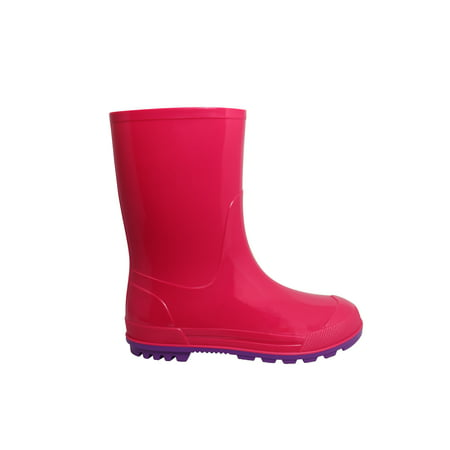 Wonder Nation Toddler and Girls' Rain Boot - Furry Boots For Girls